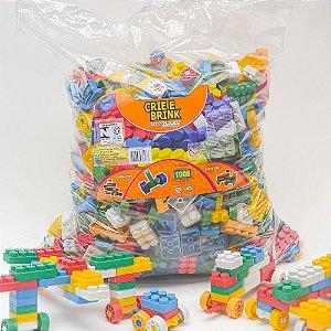 Blocos De Montar 1008 Peças Grandes Brinquedo Educativo