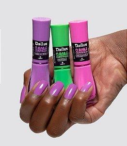 Esmalte Dailus Kit 3 un esmalte de unha o baile Continua 8ml