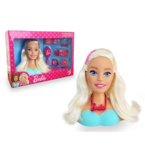 Busto Barbie para pentear Styling Head Original Mattel