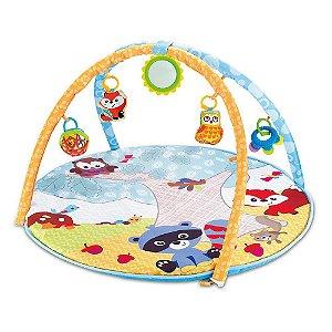Tapete de Atividades Infantil para Bebê Portátil + 5 Móbiles