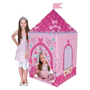 Barraca Tenda Castelo da Princesa Love - Casinha Rosa Menina