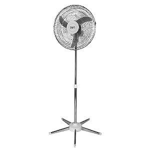 Ventilador de Coluna Tron 50cm 3 Pás 140w Luxo Cromado Bivolt