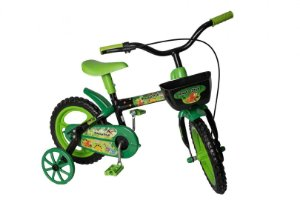 Bicicleta Bike Infantil Aro 12 Raptor Dinossauros 3 a 5 Anos