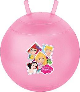 Bola Pula Pula Princesa Disney Upa Princesas Lilás 60cm 25kg