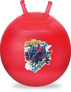 Bola Pula Pula Homem Aranha Upa Upa Spiderman Vermelho 60cm