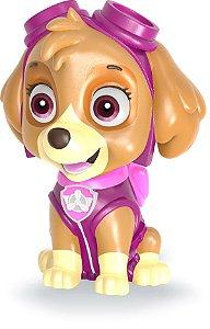 Boneco Cofrinho Patrulha Canina - Skye Original Vinil Macio
