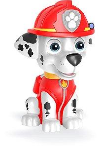 Boneco Cofrinho Patrulha Canina - Marshal Original Vinil Macio