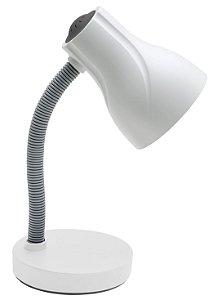 Luminária De Mesa Direcionável Spiralle E-27 20w Branca