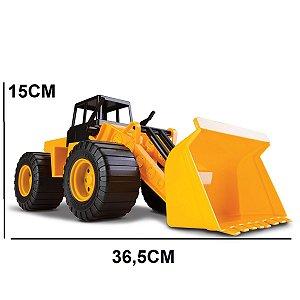 Caminhão de Brinquedo Escavadeira Trator Combo Cardoso Toys