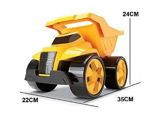 Caminhão de Brinquedo Basculante 2 em 1 Combo 2 Cardoso Toys