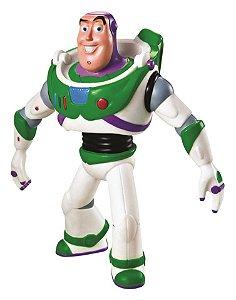 Boneco de Vinil Macio Toy Story Buzz Lightyear 17cm Líder