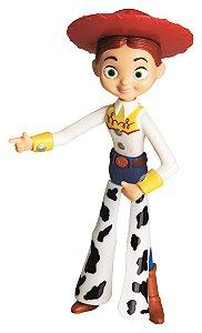 Boneco de Vinil Macio Toy Story Jessie 17cm Líder