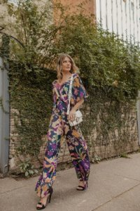 Macacão Pantalona Floral