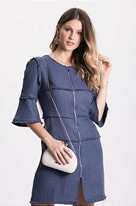 Vestido Midi Tweed