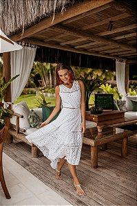 Vestido Pontas Cozumel