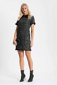 Vestido Midi Tweed Osla