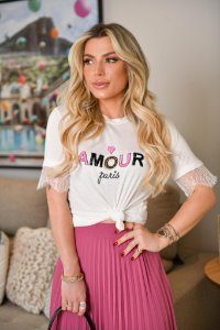 T-SHIRT AMOUR PARIS