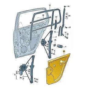 Capa De Proteção Porta Traseira Direita - Fox Spacefox