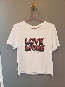 T-shirt Descolada Love Lança Perfume