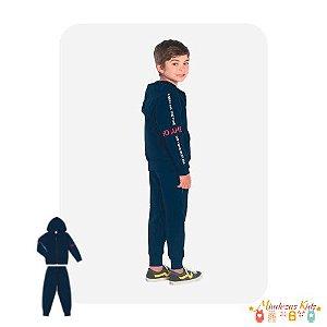 Conjunto Jaqueta e Calça de Moletom Rovitex Kids