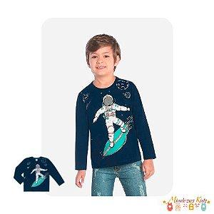 Camiseta em meia malha Astronauta Rovitex