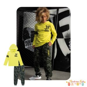 Conjunto camiseta e calca jogger Johnny Fox