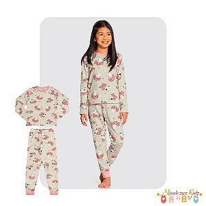 Pijama Meia Malha Alakazoo