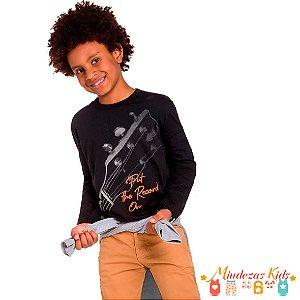 Camiseta em Meia Malha Kyly Guitarra