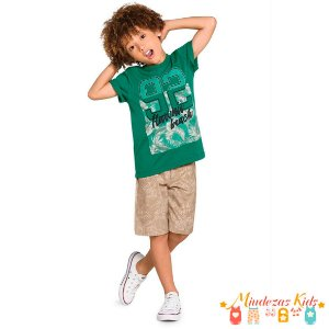 Conjunto Camiseta e Bermuda Rovitex Kids, Ref. 3087361