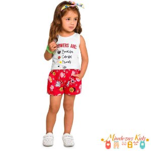 Conjunto Regata com Short Rovitex Kids - BLK1