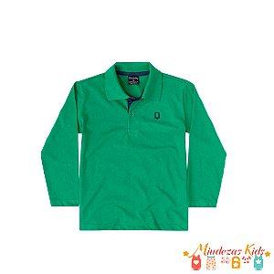Camisa Polo Manga Longa Quimby - BLK