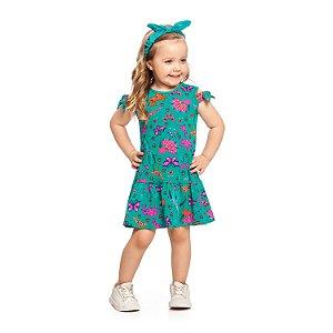 Vestido Malha Cotton Soft Alakazoo - BLK1