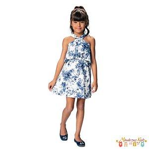 Vestido Trapézio Floral Carinhoso - BLK1