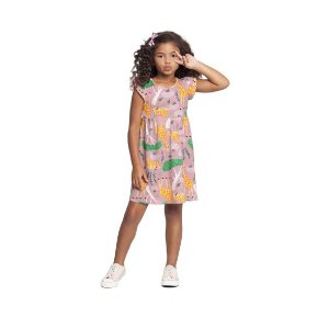 Vestido em Meia Malha Alakazoo - BLK1