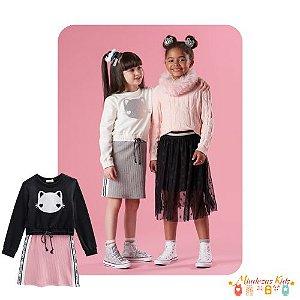 Conjunto Blusão e vestido Le Petit Kukiê