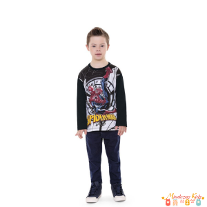 Camiseta Homem Aranha (Spiderman) Fakini - BLK