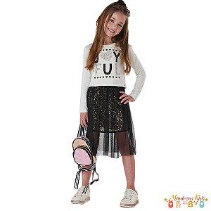 Conjunto Fashion Le Petit Kukie - BLK