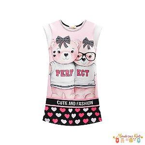 Vestido Ursas Perfect Le Petit Kukie