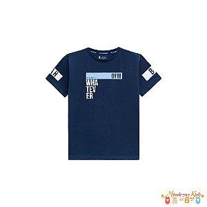 Camiseta em meia malha Infantil Menino Onda Marinha