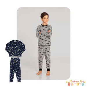 Pijama Blusa Manga Longa e Calça Alakazoo