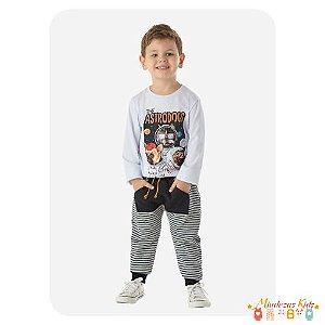 Conjunto de camiseta e calça de moletom The Astrodogs By Gus