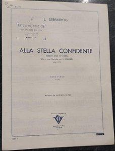 ALLA STELLA CONFIDENTE - partitura para piano - L. Streabbog