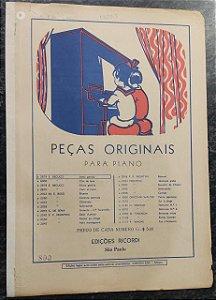 AMOR GENTILE - partitura para piano - E. Becucci