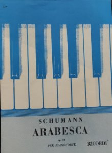 ARABESCA OPUS 18 - partitura para piano - Schumann