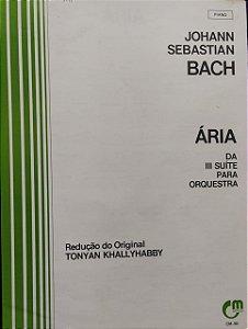 ÁRIA DA III SUÍTE PARA ORQUESTRA - partitura para piano - Bach