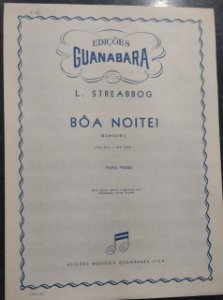 BOA NOITE! - Partitura para piano - Streabbog
