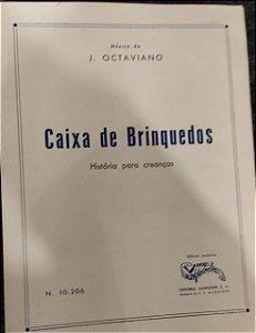 CAIXA DE BRINQUEDOS - partitura para piano - J. Octaviano