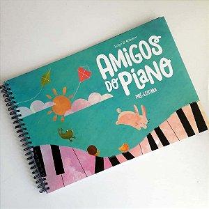 AMIGOS DO PIANO PRÉ LEITURA - Angelita Ribeiro e Maria Helena Lage