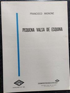 PEQUENA VALSA DE ESQUINA - partitura para piano - Francisco Mignone