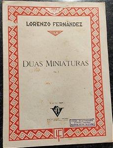 DUAS MINIATURAS - partitura para piano - Lorenzo Fernandez